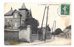 CPA 80 - ATHIES - RUE DE LA POSTE - Altri Comuni