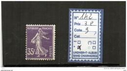 FRANCE A CHARNIERE * 142 - 1906-38 Semeuse Camée