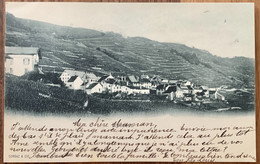BOURG EN LAVAUX - EPESSES 1901 JOLIE CARTE - VD Vaud