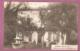 Cpa Pourlans Maison Forestière De Rougemont - édition Maitret - Autres Communes