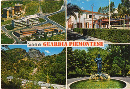 Saluti Da GUARDIA PIEMONTESE - Vedute - Otras Ciudades