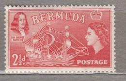 BERMUDA 1953 Elizabeth II Ship MH (*) Mi 134 #17006 - Bermuda