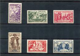 AFRIQUE  EQUATORIALE  FRANCAISE  N°  27 A 32 *  (Y&T)  (Charnière) - Unused Stamps