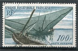 AFRIQUE  EQUATORIALE  FRANCAISE  N°  59  PA  (Y&T)   (Oblitéré) - Unused Stamps