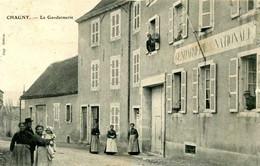 CHAGNY  =  La Gendarmerie    2055 - Chagny