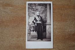 Cdv Second Empire  Officier Général  Avec Ses Ordres Et Décorations  Grande Tenue  à Identifier - Guerra, Militari