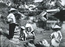 INDOCHINE VIET NAM Photo 30 X 24 Cm TTB  ANNAM  Région De Hué  Service Presse 2 Scans - Places