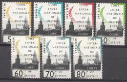 Pays-Bas 1991 Mi.nr.: 51-57  Friedenspalast  Neuf Sans Charniere / MNH / Postfris - Officials
