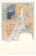 LESSIEUX - Faust - Femme Au Rouet (5679 ASO) - Lessieux