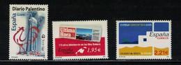 ESPAGNE - N° Yvert 3757 / 59 - 2001-10 Nuevos & Fijasellos