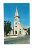 NORTH BAY, Ontario, Canada, Pro-Cathedral Of The Assumption, Old Chrome Postcard - North Bay