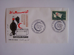 ALGERIE 15-5-1971 FDC SECOURISME - Algeria (1962-...)