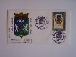 ALGERIE 22-12-1973 FDC MILLENAIRE D'ALGER - Algeria (1962-...)
