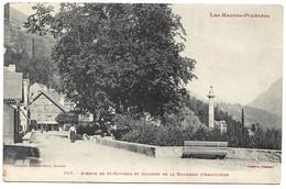 LUZ - Avenue De St Sauveur Et Colonne De La Duchesse D'Angoulème - Luz Saint Sauveur