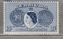 BERMUDA 1953 QE II MNH (**) Mi 146  #17017 - Bermuda