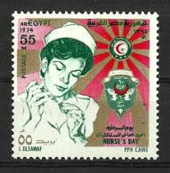 Egypt - 1974 - ( Nurses' And World Hospital Day ) - MNH (**) - Unused Stamps