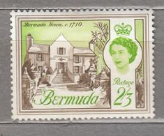 BERMUDA 1962 QE II MLH (**/*) Mi 176 #17019 - Bermuda