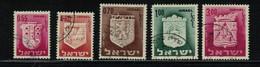 ISRAEL- N° Yvert 283A / 86 - Gebraucht (ohne Tabs)