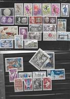 FRANCE 1542à1547/1549à1553/1555/1558à1576/1580/1581 Neufs** - Unused Stamps