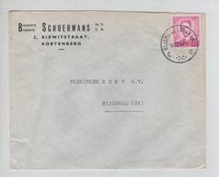 REF3080/ TP 1067 Baudouin Lunettes S/L. Brouwerij-Brasserie Schuermans  Kortenberg C.Wijgmaal (Brabant) 14/12/64 - Lettres & Documents
