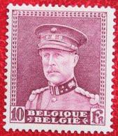 10Fr Koning Albert I 1931 OBP 324 (Mi 313) Ongebruikt / MHBELGIE BELGIUM - Nuevos