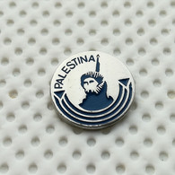 PLO (Palestine Liberation Organization) National Front, Palestina, Military Movement, Politics, Pin / Badge (1970`s) - Militair & Leger