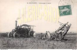 BOUFARIK CPA 1910 # AGRICULTURE # TRACTEUR À VAPEUR # CHARRUE LABOURAGES À VAPEUR ▬ DESARBAIS ÉDITEUR, BOUFARIK - Trattori