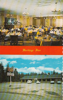 Wawa Ontario - Heritage Inn - Restaurant Hotel Motel - Cars - Unused - 2 Scans - Andere