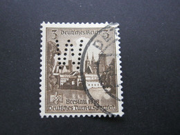 Drittes Reich ,  Firmenlochung,perfin - Used Stamps