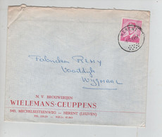 REF3083/ TP 1067 Baudouin Lunettes S/L.Brouwerijen Wielemans-Ceuppens Brasserie Herent + C.8/10/69 > Wijgmaal - Lettres & Documents