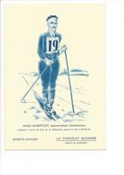 26571 -  Le Sport En Suisse Avec Le Cacao Suchard Robert Wampfler Saanenmöser Zweisimmem - Deportes De Invierno