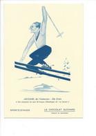 26573 -  Le Sport En Suisse Avec Le Cacao Suchard Jaccard De L'Auberson Ste Croix - Sport Invernali
