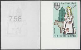 Non Dentelé (1983) - N°2100 Tinekesfeesten Heule - Non Dentellati