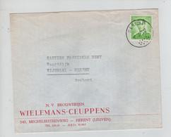 REF3084/ TP 1068 Baudouin Lunettes S/L.Brouwerijen Wielemans-Ceuppens Brasserie Herent + C.10/12/69 > Wijgmaal - Lettres & Documents