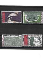1110 ARPHILA 75 La Série  YT 1830 à 1833 Oblitérés - Used Stamps