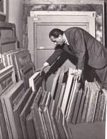 Fotografia Originale OTTONE ROSAI (pittore). 1954 - Famous People