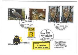 Luxembourg 1999 Hibou Chouette ¦ Owl ¦ Eule - Cartas