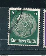 N° 445 85 Ans Du Marechal Hindenburg Timbre Allemagne, Empire (Reich) (1932) - Used Stamps