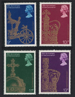 Great Britain 25th Anniversary Of Queen's Coronation 4v 1978 MNH SG#1059-1062 - Unused Stamps