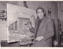 Fotografia Originale OTTONE ROSAI (pittore). - Famous People