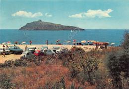 Cartolina Cirella Spiaggia Con Isola 1972 Auto - Cosenza