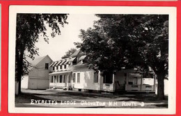 USA   NH GROVETON    EVERETT'S LODGE ROUTE 3  RP Pu 1952 - Sonstige