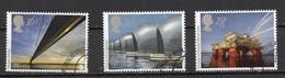 Grande Bretagne - Great Britain - Großbritannien 1983 Y&T N°1091 à 1093 - Michel N°953 à 954 (o) - EUROPA - Usados