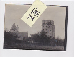 ELVEN DONJON 56 MORBIHAN PHOTO ORIGINALE - Lugares