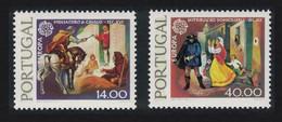 Portugal Europa CEPT 2v Phosphor Paper 1979 MNH SG#1751-1752 MI#1441y-1442y CVEur30.- - Ungebraucht