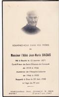 Monsieur L'Abbé Jean-Marie Henri Brizais - Rappelé à Dieu Le 29/06/1950 - Other