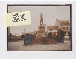 QUIBERON STATUE HOCHE 56 MORBIHAN PHOTO ORIGINALE - Plaatsen