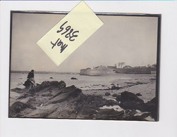 PORT LOUIS REMPARTS PLAGE 56 MORBIHAN PHOTO ORIGINALE - Plaatsen