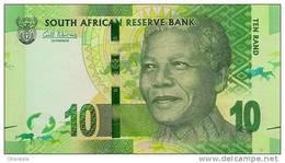 SOUTH AFRICA P. 133 10 R 2012 UNC - Suráfrica