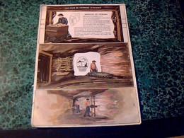 PUBLICITÉ Engrais Potasse D'Alsace (la Cigogne) Découpage Diorama N°3 Mine De Potasse En Alsace - Publicités